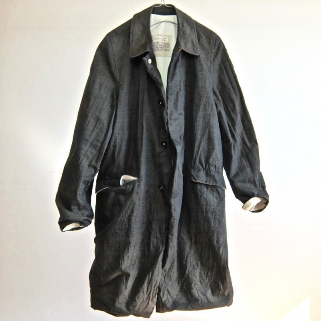 1940-1950 Vintage  British Balmacaan Coat