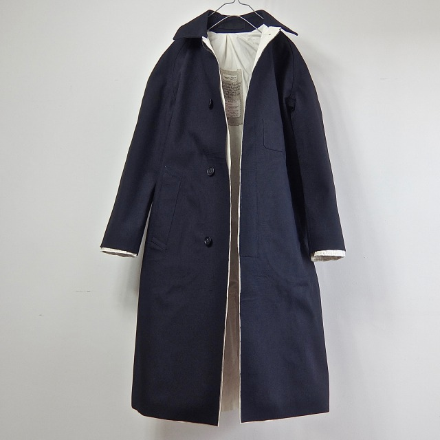 1950′- Vintage British Railways Rubberized Rain Mac