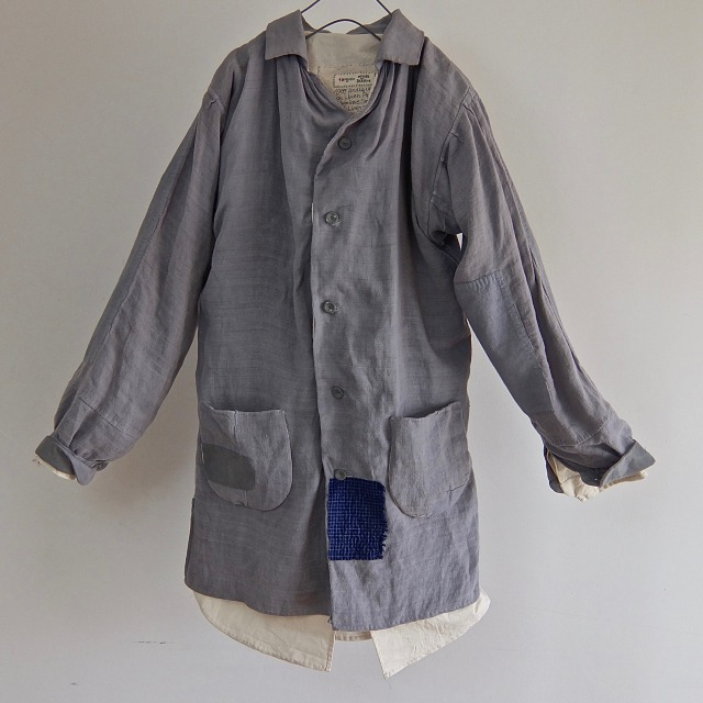 1900's Antique French Linen  Paysanne  Smock Coat
