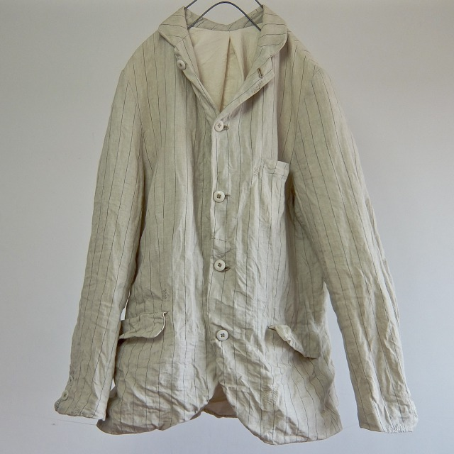 1930-1940 Vintage Pure French Linen Paysanne Jacket