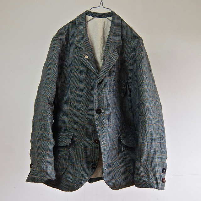 Vintage Pure Irish Linen Tailored Sports Jacket