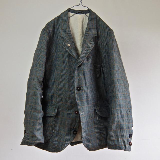 Vintage Pure Irish Linen Tailored Sports Jacket