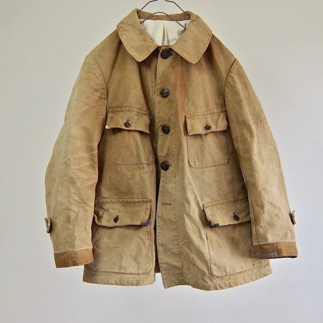 "Vintage ""SOMLYS"" Old French Style Hunting Jacket"