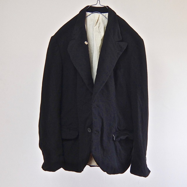 Antique  Peaked Lapel French  Tailor-made Jacket