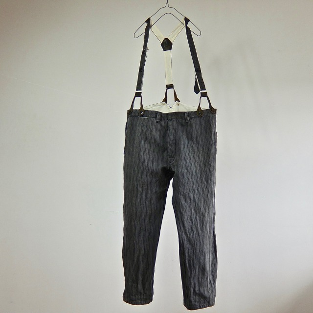 Vintage French  Mont St.Michel Stripe  Pants