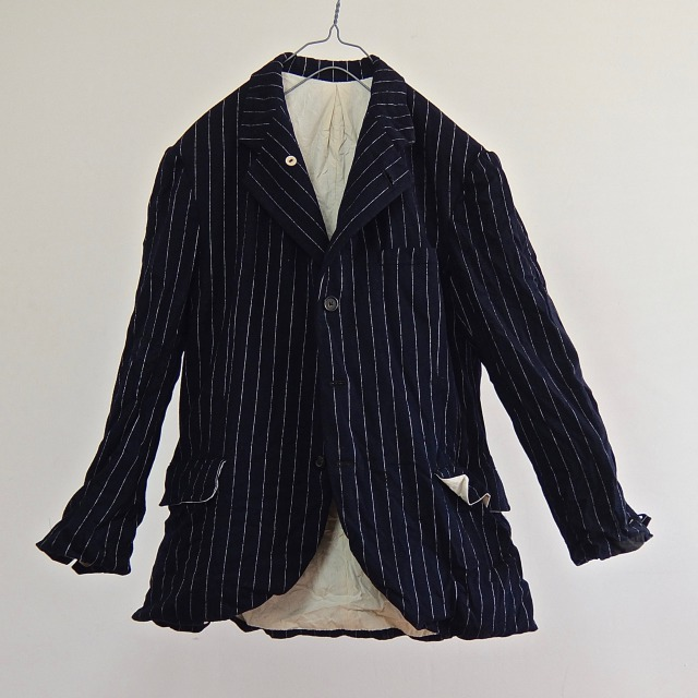 British Vintage Pin-Stripe Jacket Tailor-made in1947