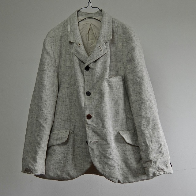 60's Vintage Irish Linen Blended Linen British Blazer
