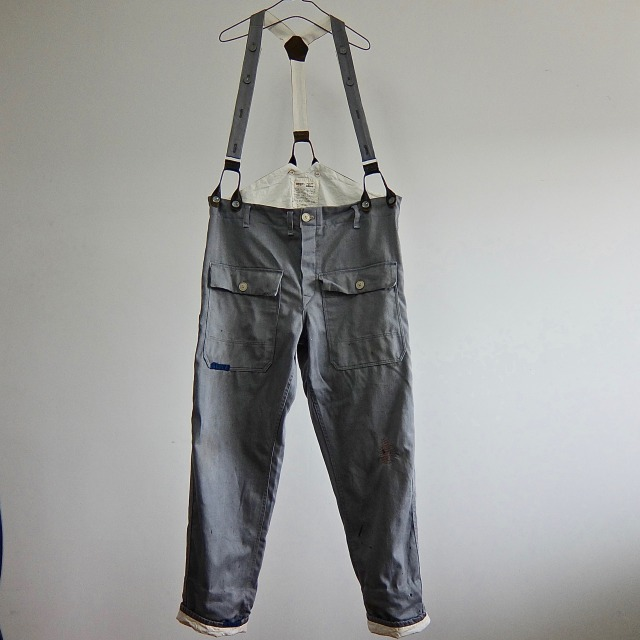 Vintage British Salt&Pepper Twill Work Pants