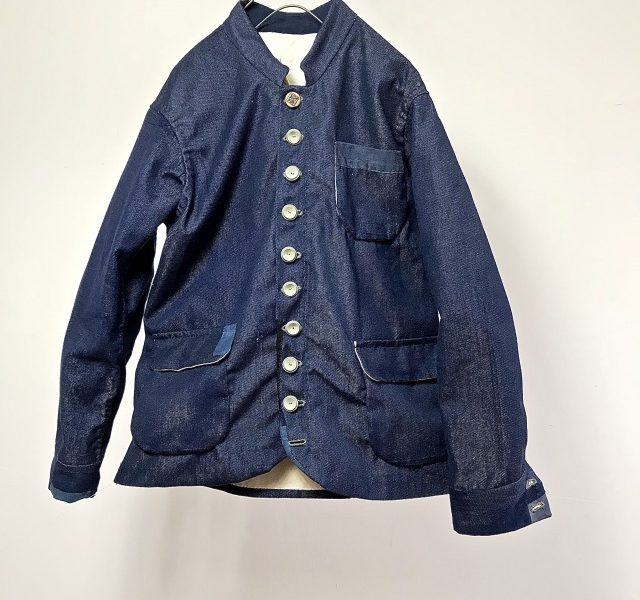 Vintage French  Worker TERGAL/COTTON JEAN Jacket