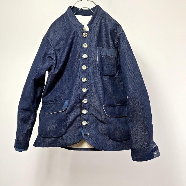 Vintage French  Worker TERGAL/COTTON JEAN Jacket