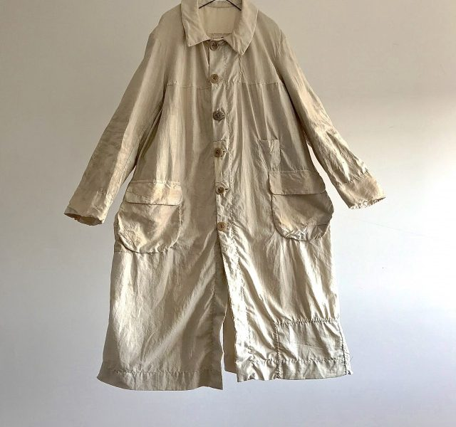 Antique French Paysan Smock Coat