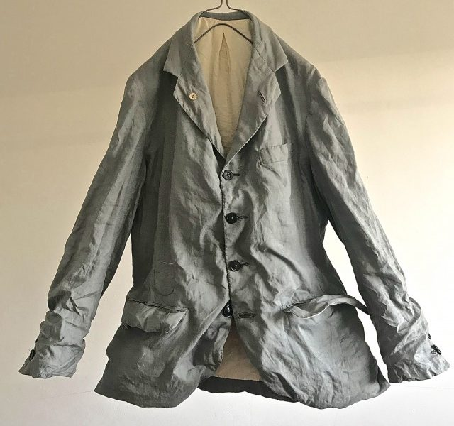 "Vintage ""ANDERSON & SHEPPARD"" Tailor-made Linen Jacket"