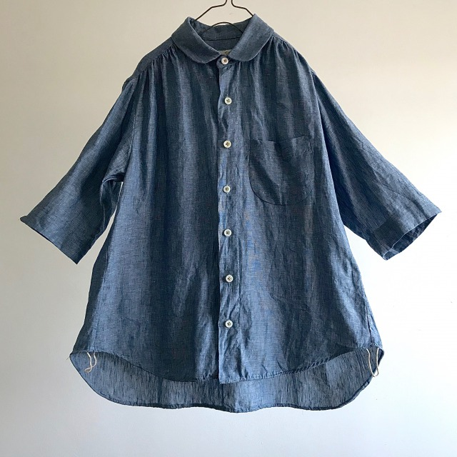 Linen Chambray Over Shirt