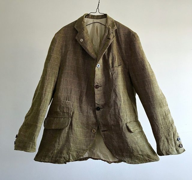 Vintage  True Pure Irish Linen Jacket