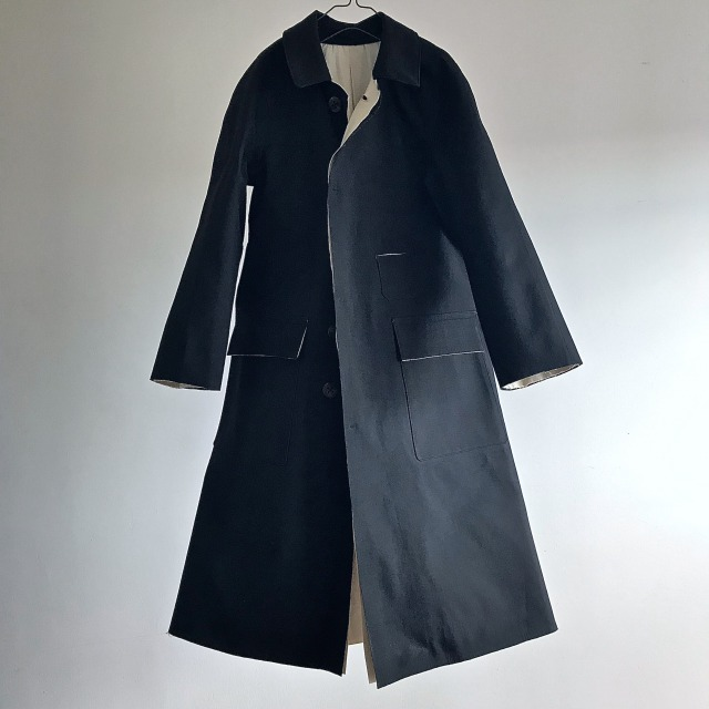 Vintage British Railways Rubberized Rain Mac
