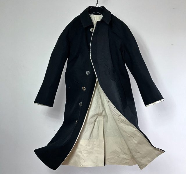 Vintage British Railways  Rain Coat By  Mackintosh Cloth