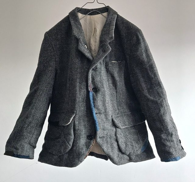 Vintage  Old Scottish Harris Tweed Tailor-made Jacket