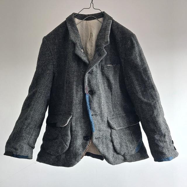 Vintage  Old Scottish Harris Tweed Tailor-made Jacket