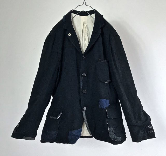 French Vintage Cotton/Viscose Doeskin Jacket