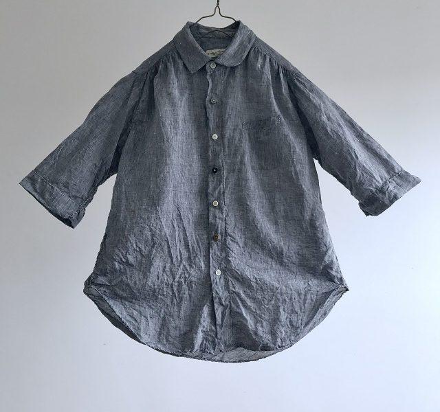 Belgian Linen  Spiral Stitch Shirt
