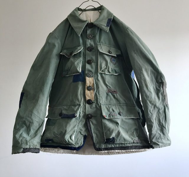 "French Vintage ""COLAMTISS""Canvas Hunting Jacket"