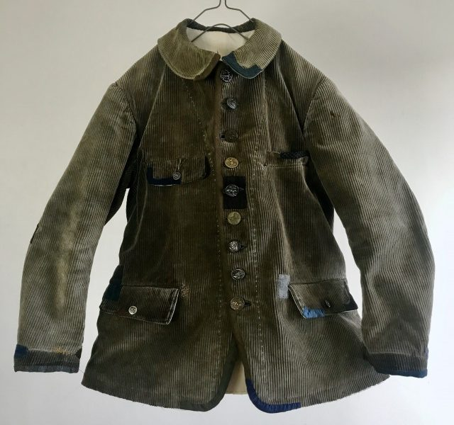 "Vintage French ""Velours d'Amiens"" made Old Hunting Jacket"