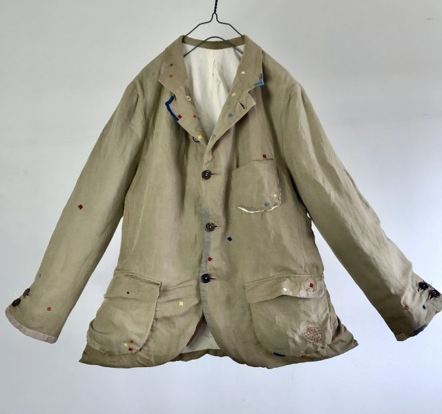 "Vintage ""MOYGASHEL""s True Pure Irish Linen  Made British Sports Blazer"