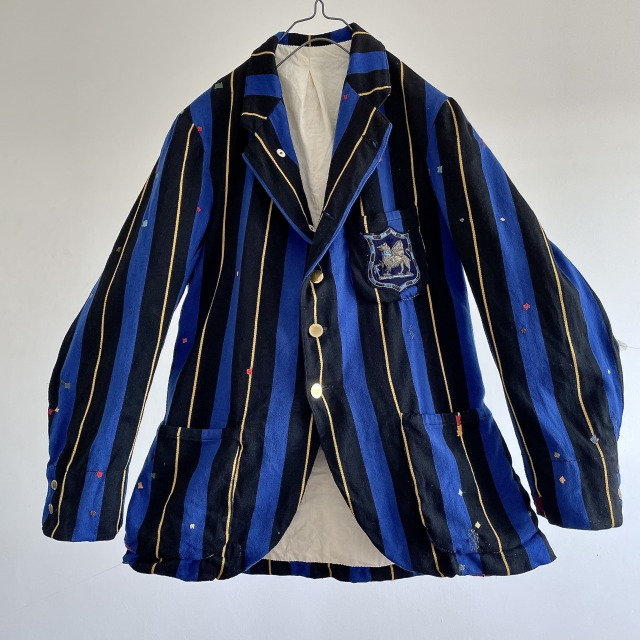 Antique English College [Taunton School] Rowing Blazer Jacket